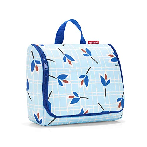 Reisenthel toiletbag XL Krawattenetui, 59 cm, 4 L, Blue Leaves
