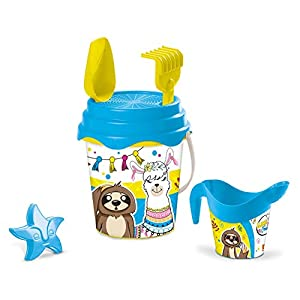 Mondo 28584 Llama & Friends Bucket Set de Playa, 28584