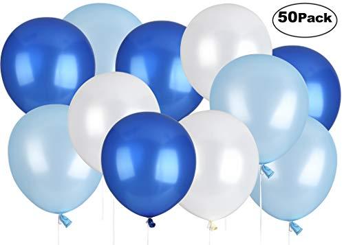 LinkBro 50 Bleu Ballons d'Annive...