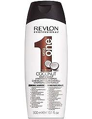 REVLON PROFESSIONAL Uniqone Shampoing/Après-Shampoing 2 en 1 pour Tous Types Cheveux 10 Bienfaits Coco Coconut, 300ml