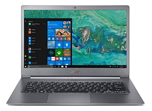 "Acer Swift 5 SF514-53T-79J5 Notebook con Processore Intel Core i7-8565U, RAM da 8 GB DDR4, 256 GB SSD, Display Multi-touch 14"" FHD IPS LCD, Peso 0,97 Kg, Windows 10 Home, Silver"