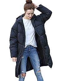 BaZhaHei Damen Winterjacke Wintermantel Lange Daunenjacke Jacke Outwear Frauen  Winter Warm Daunenmantel Warm Long Coat Pelzkragen d505035990