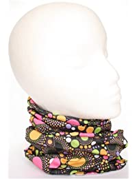 TC-Accessories Retro psychadelic spheres 12 in 1 snood tube scarf Multifunctional Headwear