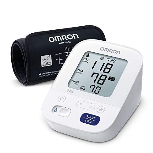 Omron X3 Comfort Oberarm-Blutdruckmessgerät mit Intelli Wrap Manschette