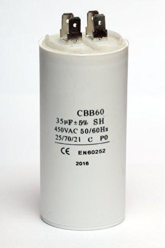 35 Microfarad/450V AC Motor Capacitor