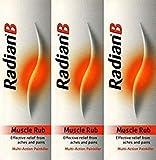 Radian B Muscle Rub 100 grams x 3 Packs