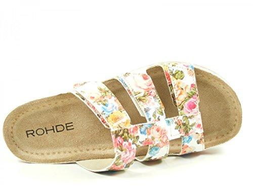 40 Riesa 5822 Multicolore Femme Rohde Muli 98 napwqnxR