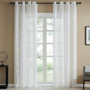 gardine schals voile aria vorh nge mit versteckten. Black Bedroom Furniture Sets. Home Design Ideas