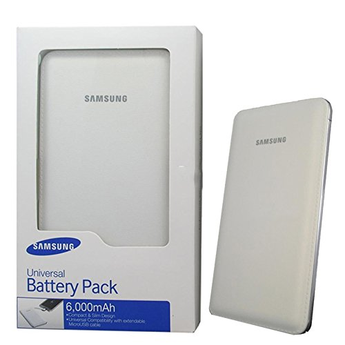 Samsung EB-PG900BWEGIN External Power Bank 6000mAH (White)