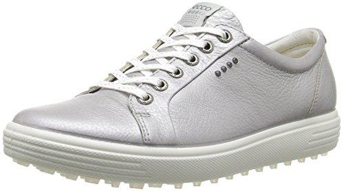 Ecco Womens Casual Hybrid, Chaussures de Golf Femme, Silber (1708ALUSILVER), 39 EU