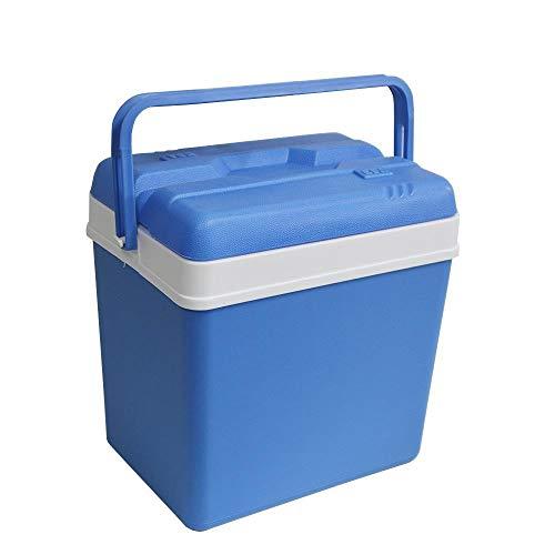 DRULINE 24 Liter Kühlbox Blau 39 x 40 x 26 cm 5000 Tragbare Isotherm Extrem