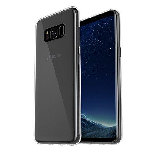 Skins Galaxy Otterbox Für (OtterBox Clearly Protected Skin, Extra Slim Silikon Schutzhülle für Samsung Galaxy S8+, Transparent)