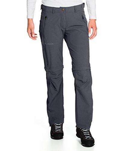 VAUDE, Damen Hose Farley Stretch Zip Off T-Zip Pants, Schwarz (Schwarz), Gr. 34 short