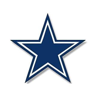 American Vinyl Blue Star Dallas Cowboys Colors Aufkleber (Logo Big Dak Fan Love)