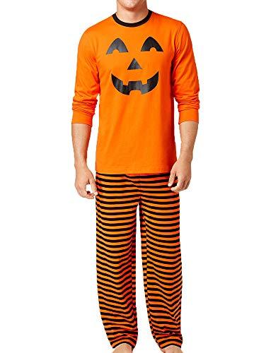 Familie Kleidung, Halloween Baby Männer Frauen Boy Pyjamas Kürbis Print Bluse Hosen Nachtwäsche Set (Halloween-pyjamas Für Babys)