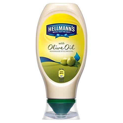 D'Huile D'Olive À Presser La Mayonnaise Hellmann 430Ml - Paquet de 6