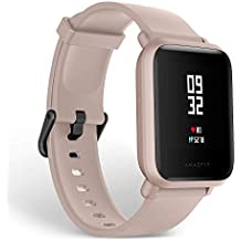Amazfit BIP Lite 3ATM Smart Watch (Pink)