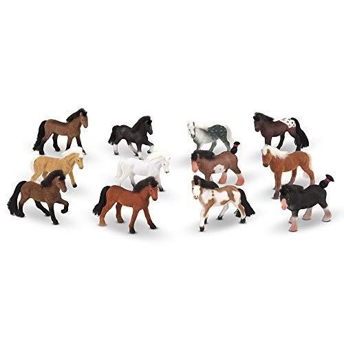 Melissa & Doug Juego caballos Amigos pastizales 12