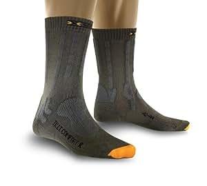 X-Socks Trekking Light et de confort Chaussettes de sport, mixte, Funktionssocken Trekking Light und Comfort, Olive Green/Pine Green