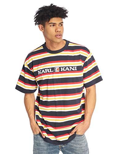 655ab58d79cf Karl Kani Retro Stripe Camiseta Navy/White/Red/Yellow
