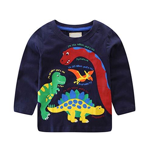 Baby Jungen Kleidung, Oyedens Kinder-T-Shirt Mit Print Boy Long Sleevebaby-Jungen ()