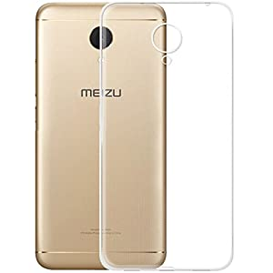 Plus Exclusive Soft Silicone TPU Transparent Clear Case Soft Back Case Cover With Packaging Kit For Meizu M5