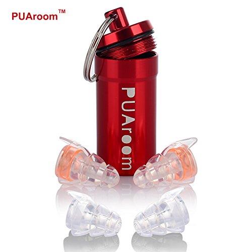 PUAroom Protección Auditiva Tapones para los oídos,2 pares de auricu