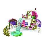 Schleich 42445- Glitzerndes Blütenhaus mit Einhörnern Spielzeug