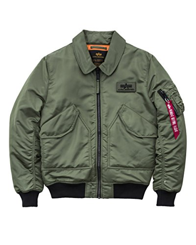 Alpha Industries Jacke CWU VF BL Sage-Green