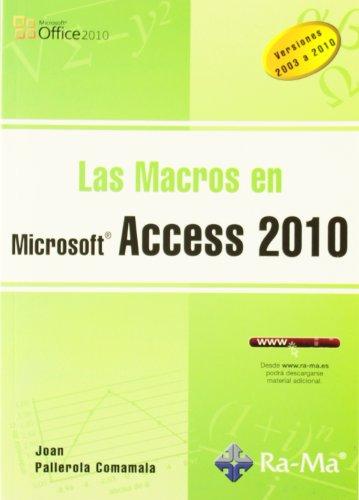 Las Macros en Access 2010