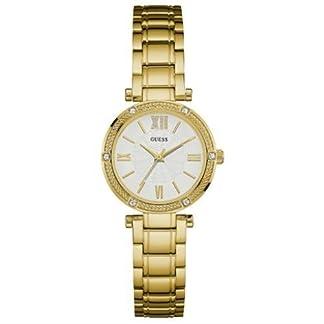 Guess  W0767L2 – Reloj de lujo para mujer, color beige / dorado