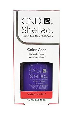 CND Shellac Vernis gels Video Violet 7,3