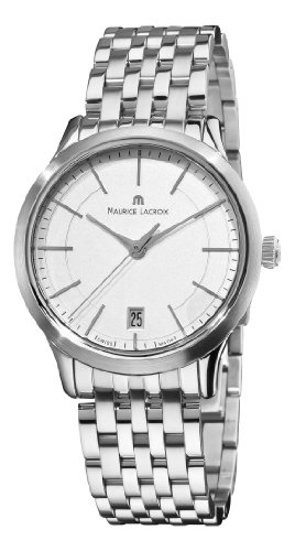 Maurice Lacroix lc1026-ss002130-Armbanduhr Farbe Silber