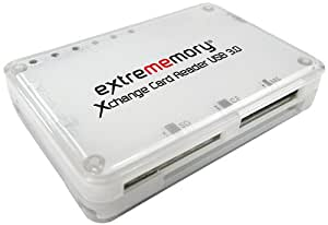 Extrememory A006705 Xchange All-in-One Kartenleser (5Gbps, USB 3.0) schwarz