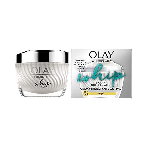 Olay Luminous Whip Crema Hidratante Piel Reluciente SPF30