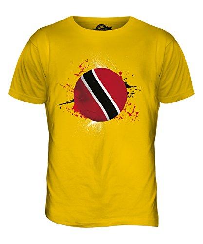 CandyMix Trinidad Und Tobago Fußball Herren T Shirt Dunkelgelb