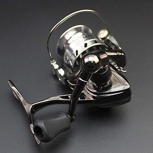 Erduo Mini Angelrolle Palm Größe Metall Ultraleicht Kleines Spinning Ice Roller Micro - Silber