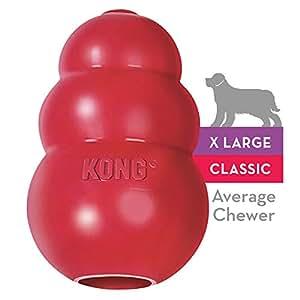 Kong Toy Jouet à Mcher pour Chien Rouge Taille XL