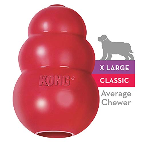 Kong Classic Hundespielzeug, Vollgummi, XL -