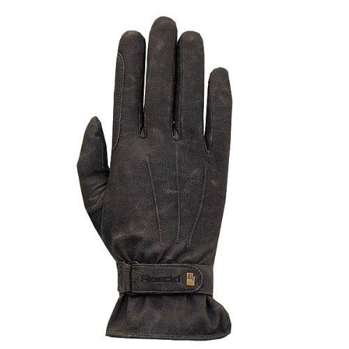 Roeckl Sports Winter Handschuh -Wago- Unisex Reithandschuh, Schwarz Stonewashed, 9