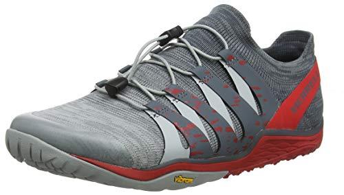 Merrell Trail Glove 5 3D, Scarpe Sportive Indoor Uomo, Grigio (High Rise), 43.5 EU