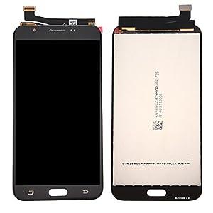 Mobiles Pièces de rechange de téléphone, IPartsBuy pour Samsung Galaxy J7 (2017) / J727 Ecran LCD + Moniteur de numériseur à écran tactile ( Couleur : Noir )
