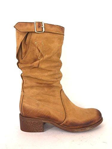 zeta-shoes-damen-stiefel-stiefeletten-braun-leder-grosse-40-eu