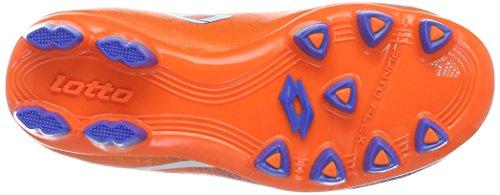 Lotto Sport Lzg Viii 700 Fgt Jr, Scarpe da Calcio Unisex – Bambini Arancione (FANT FL/WHT)