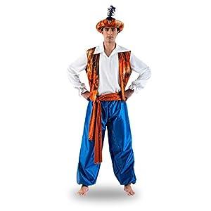 Limit Sport - Disfraz de tuareg Aladín para hombre, talla L (MA162)