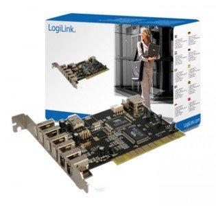 logilink-pci-schnittstellenkarte-usb-20-5x-ieee1394-3x