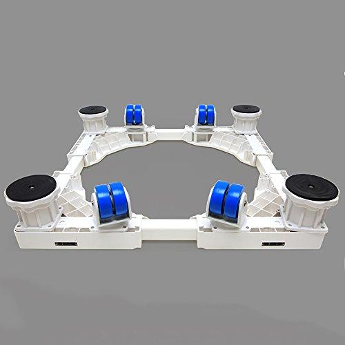 Basis Waschmaschine Sitz Einstellbar Silent Bracket Roller Kühlschrank Küche Bad Regal (größe : A)