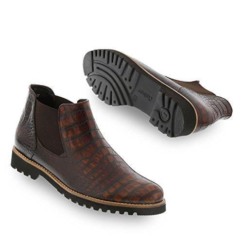 Gabor Shoes 32.731 Damen Chelsea Boots teak (S.s/c/Mic