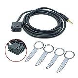 Câble Audio Ford Câble Audio Carnival/Fox/Win/Mondeo AUX + clé de démontage de CD