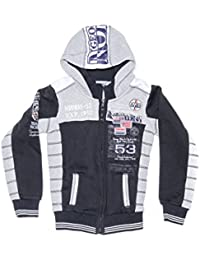 Geographical Norway-Chaqueta de niño Geographical Norway Geecker, color azul marino